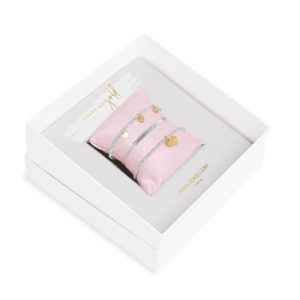 Joma Jewellery Occasion Gift Box Heart of Gold bracelets