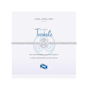 Joma Jewellery a little Scottish Triskele bracelet