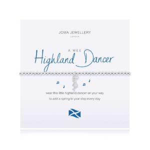 Joma Jewellery a little Scottish Highland Dancer bracelet
