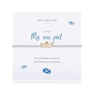 Joma Jewellery a little Scottish Ma Wee Pal bracelet