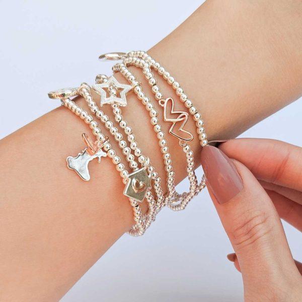 Joma Jewellery Welsh a little Wonderful Mam bracelet