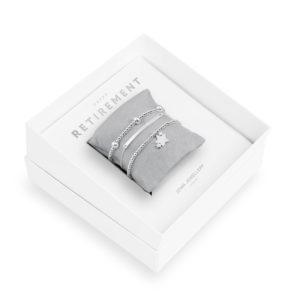 Joma Jewellery Occasion Gift Box Happy Retirement bracelets