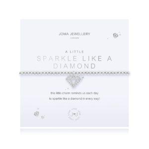 Joma Jewellery a little Sparkle Like A Diamond bracelet