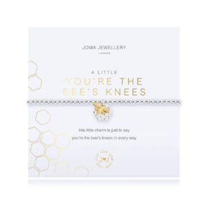 Joma Jewellery a little Bee's Knees bracelet