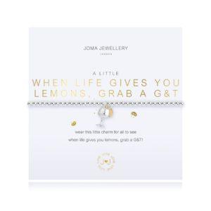 Joma Jewellery a little When Life Gives You Lemons bracelet