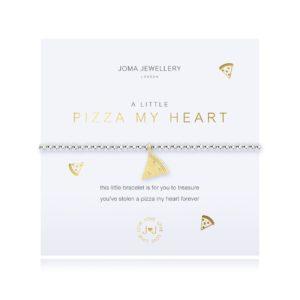 Joma Jewellery a little Pizza My Heart bracelet