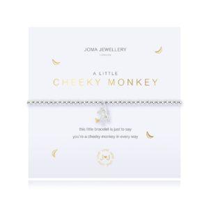 Joma jewellery a little Cheeky Monkey bracelet