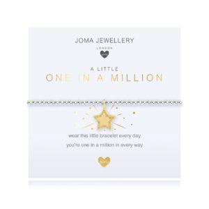 Joma Jewellery Childrens One In A Million bracelet